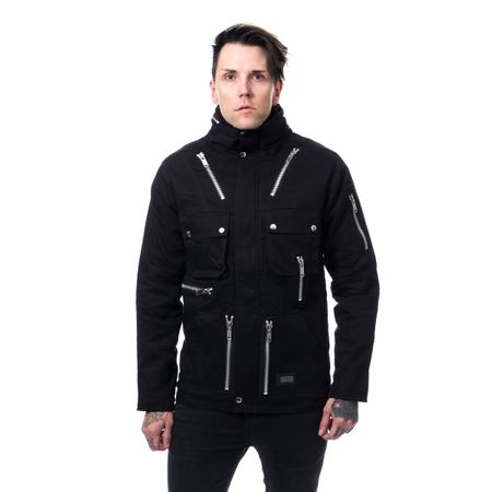 KINGSTON JACKET - winterliche Gothic Herrenjacke