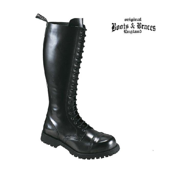 20-Loch Boots & Braces