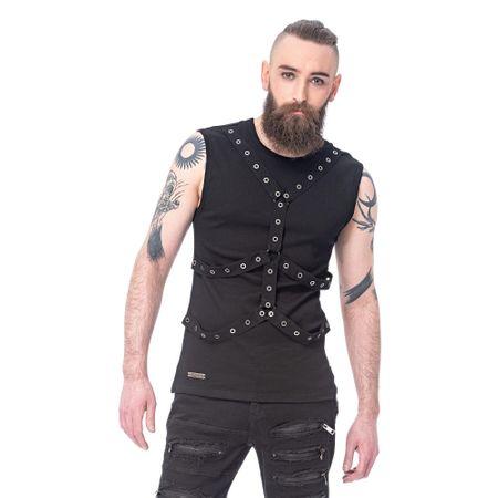 ärmelloses Gothic Bondage Herren Shirt