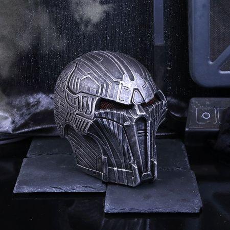 Steel Justice - silberfarbene Schädelfigur