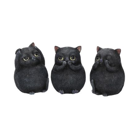 Three Wise Fat Cats