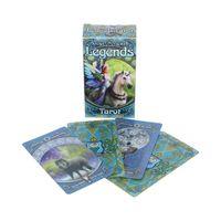 78 Tarot Karten mit Fantasy Motiven von Anne Stokes.