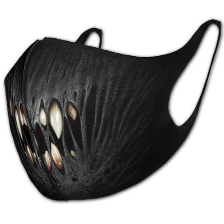 First Bite ist ein Mund-Nasen-Schutz mit Print von einem Vampir-Gebiss.