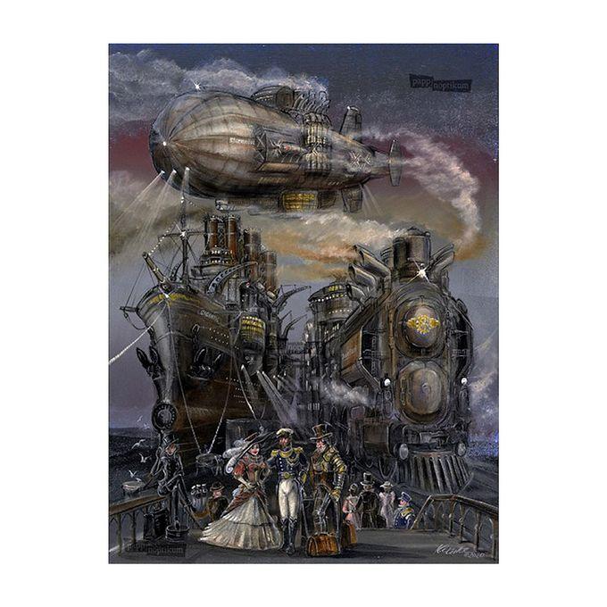 Das große Dampfrennen - Steampunk Mini-Adventskalender