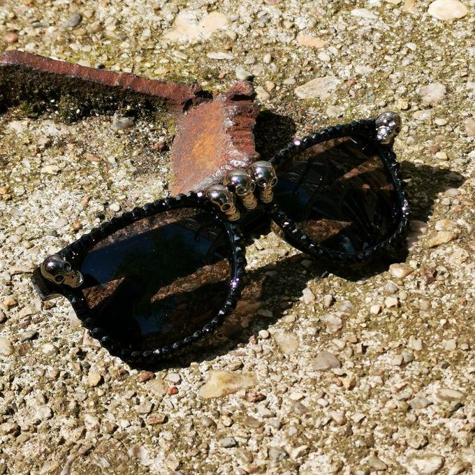 Skull Sunglases - Sonnenbrille mit Totenköpfen