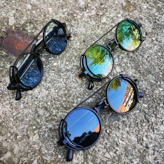 Cyber Goth Sunglasses - farbige Sonnenbrille