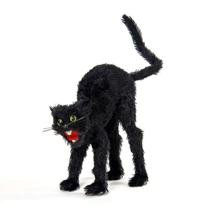 Schwarze Katze - Zombiekatze