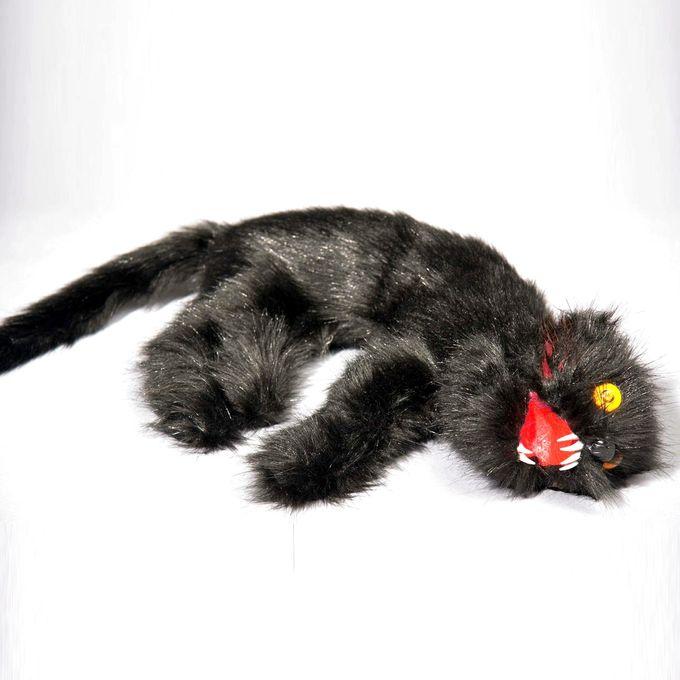 Tote Schwarze Katze - Zombiekatze