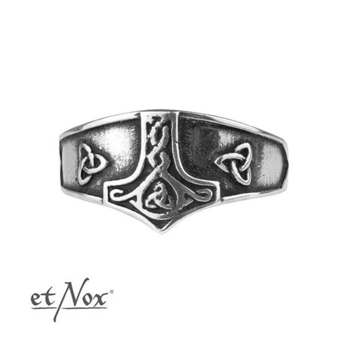 Thors Hammer Silber Ring