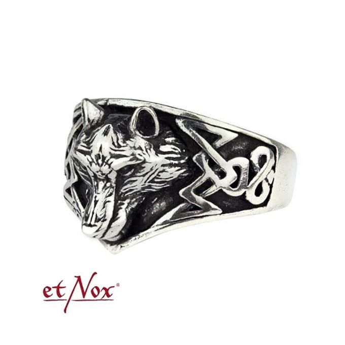 Wolf Gothic Edelstahl Ring