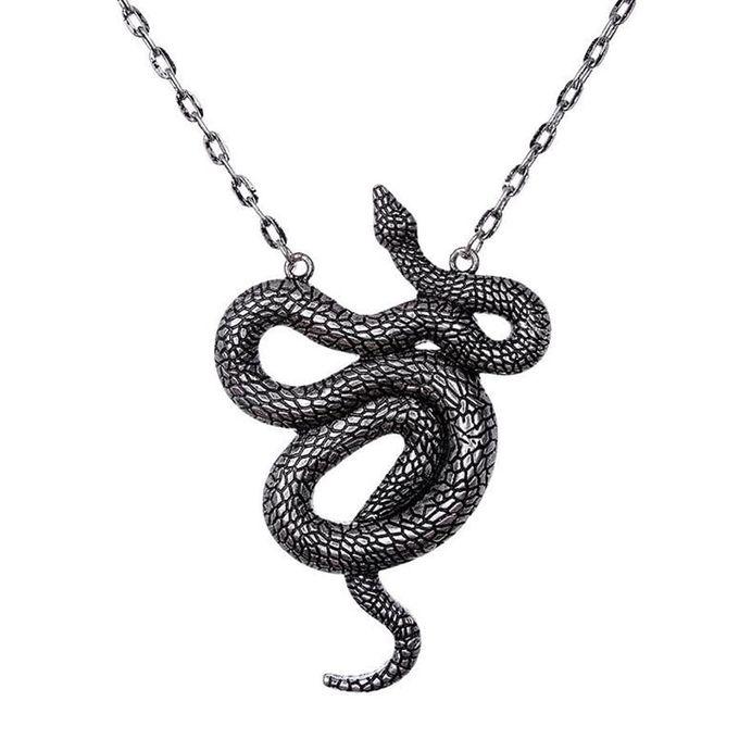 Snake Pendant - Kette mit großer Schlange