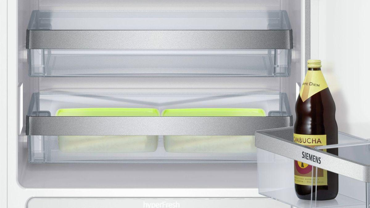SIEMENS KI40FP60 iQ700 Einbau-Kühlautomat Flachscharnier-Technik ...