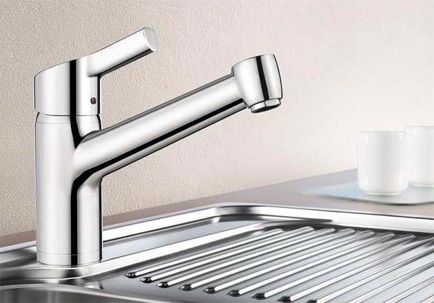 blanco elipso ii armatur edelstahl finish hochdruck sp len. Black Bedroom Furniture Sets. Home Design Ideas