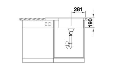 BLANCO ZENAR XL 6 S Compact PuraDur Spüle Silgranit o.AF. – Bild 3