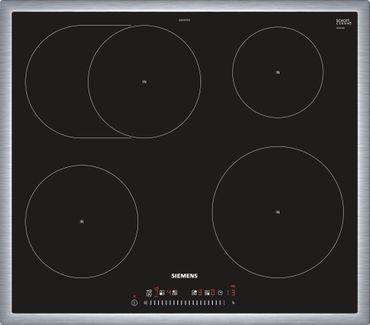 SIEMENS EH645FFB1E iQ300 60 cm Induktions-Kochstelle, Glaskeramik