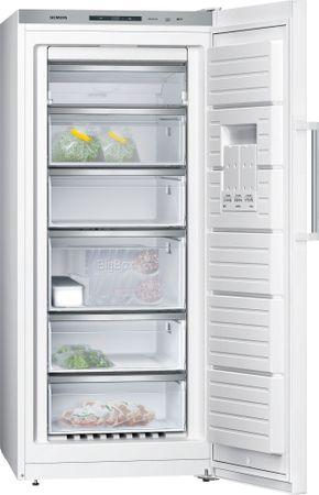 SIEMENS GS51NFW40 iQ500 Stand-Gefrierschrank, Türen weiß