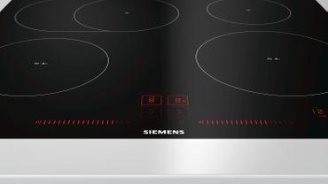 SIEMENS EH601LFC1E 60 cm Induktions-Kochfeld autark, Glaskeramik