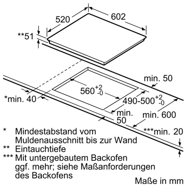 siemens ex677lyv1e 60 cm induktions kochfeld autark glaskeramik deep black edition studioline. Black Bedroom Furniture Sets. Home Design Ideas