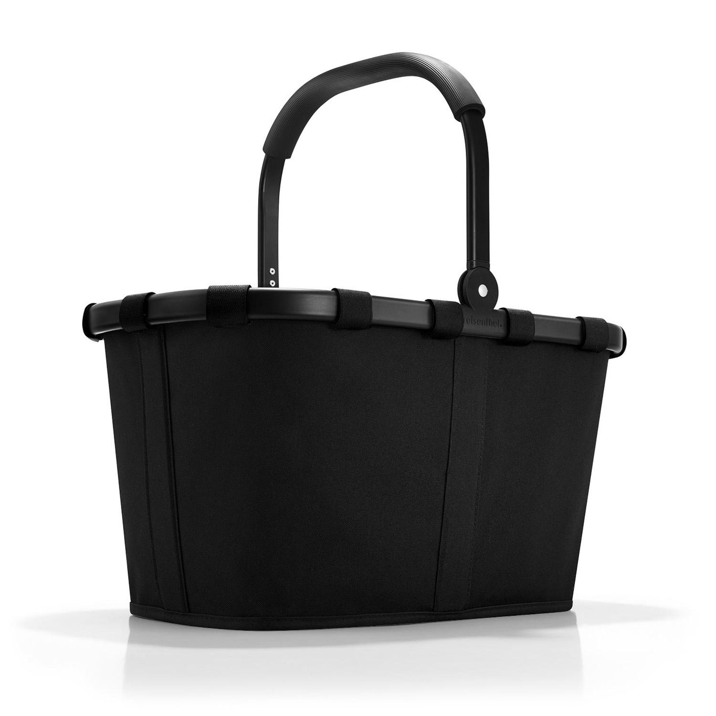 Reisenthel Carrybag Einkaufskorb schwarz/schwarzer Rahmen - 999Koffer