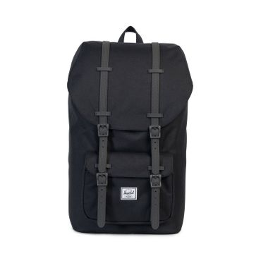 Herschel Little America Backpack Schwarz Rubber