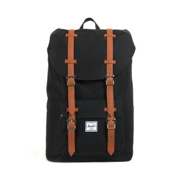 Herschel Little America Mid-Volume Backpack Schwarz Tan