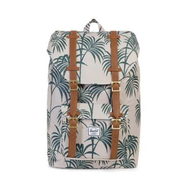 Herschel Little America Mid-Volume Backpack Grau Pelican Palm
