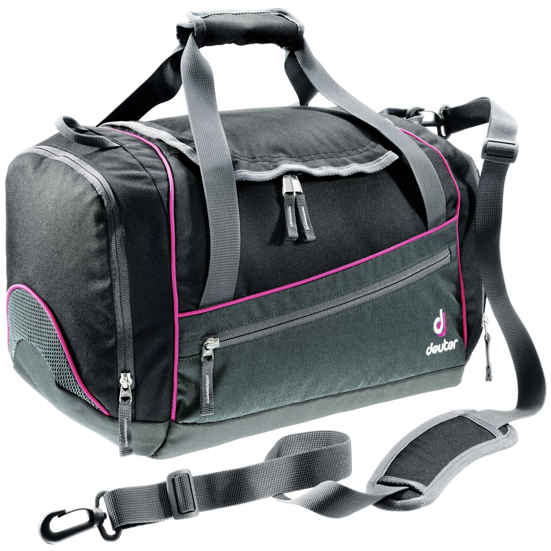 Deuter Sporttasche Hopper Schwarz-Pink