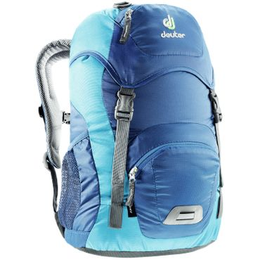 Deuter Kinderrucksack Junior Steel-Turquoise Blau