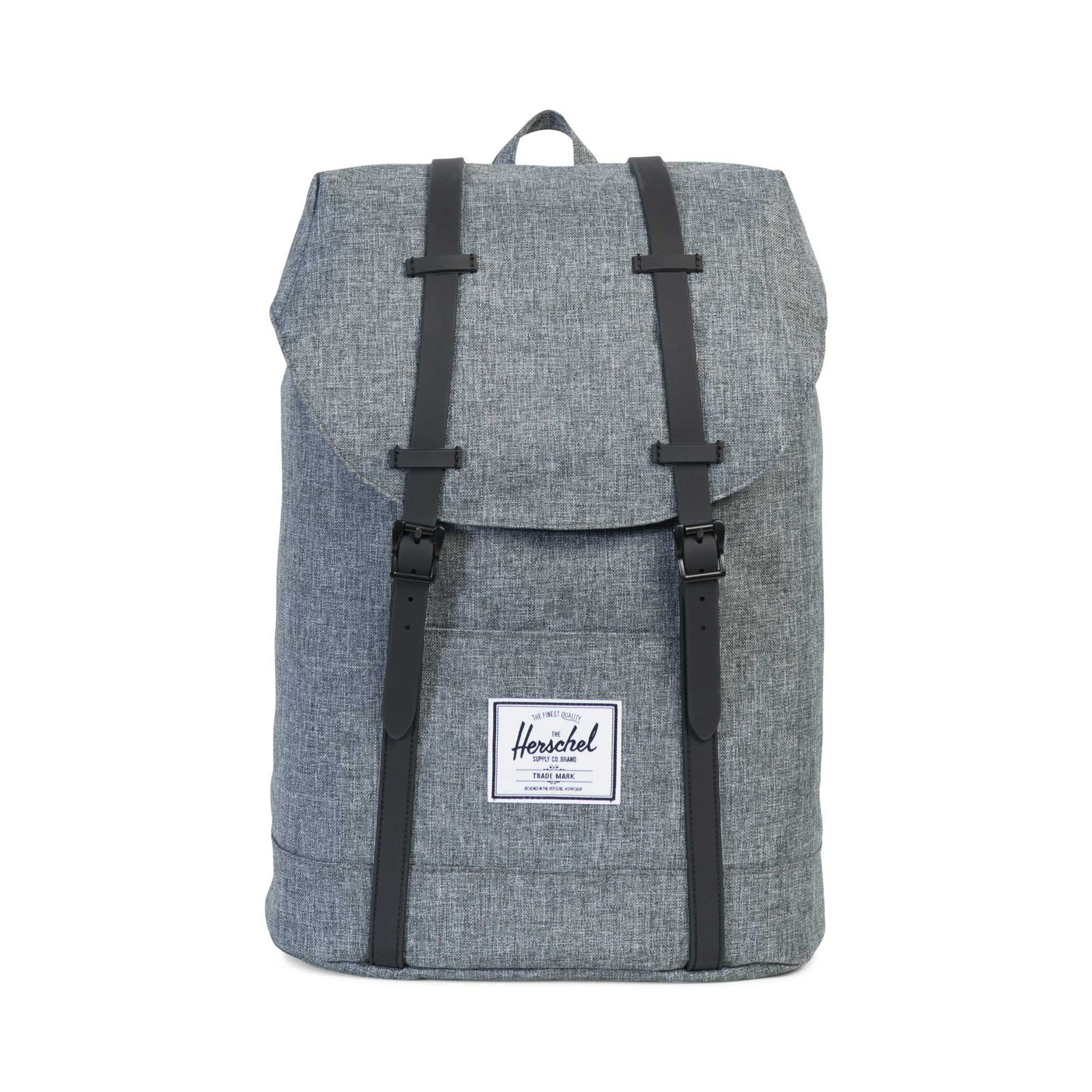 Herschel Laptoprucksack Retreat Backpack Raven Crosshatch