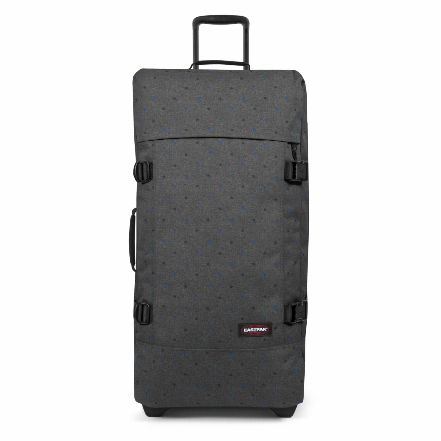 Eastpak Trolley Tranverz L Design Duo Dots (grau blau)