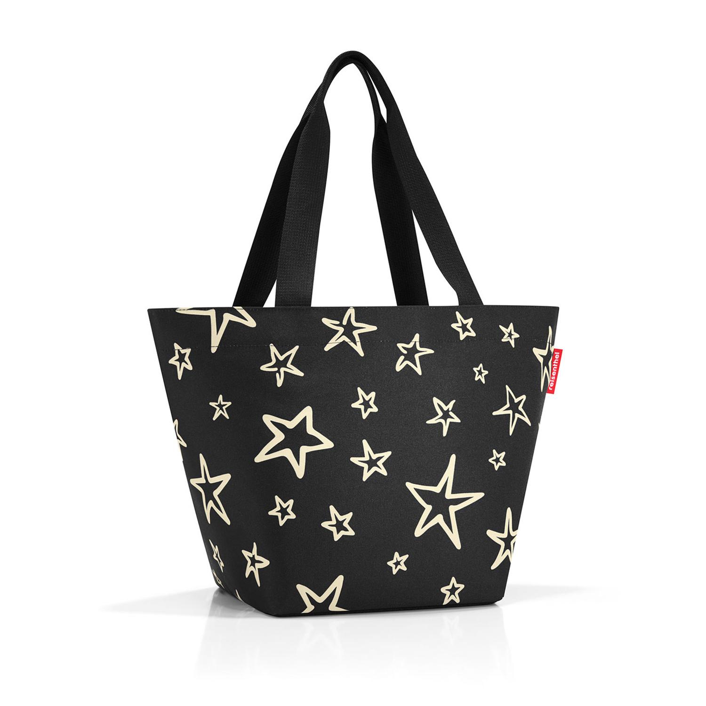 Reisenthel Shopper M Star (Schwarz mit Sternen)