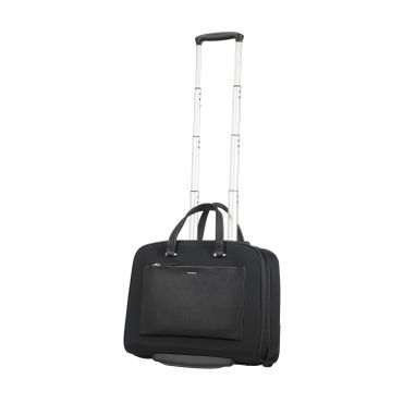 Samsonite Businesstrolley Zalia Rolling Tote Schwarz
