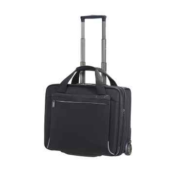 "Spectrolite Businesstrolley Rolling Tote 17.3"" Schwarz"