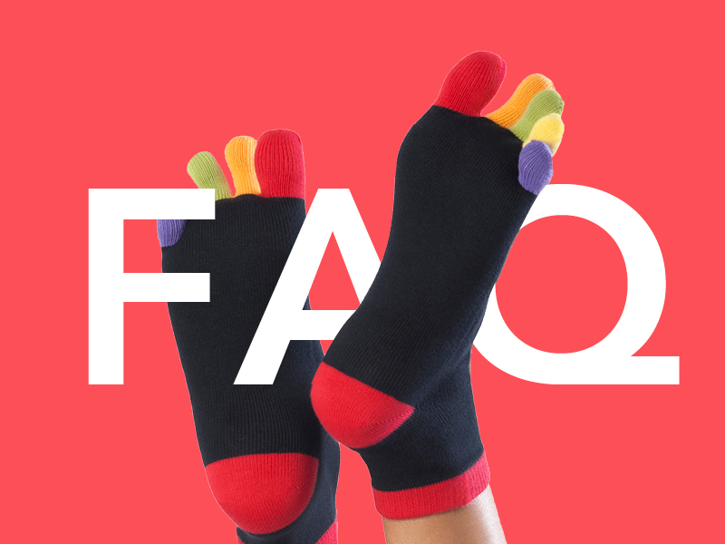 Knitido Zehensocken FAQ