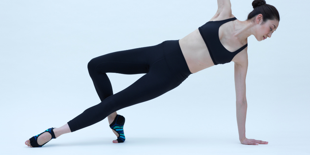 Knitido Plus Zehensocken für Pilates