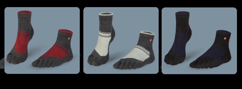 Neu: Hiking SockenOutdoor MIdi mir Zehen hier einkaufen