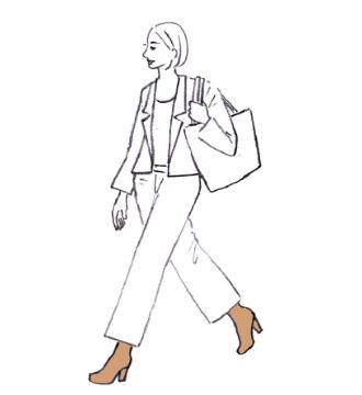 Illustration Zehensocken erhöhen die Zehenbeweglichkeit