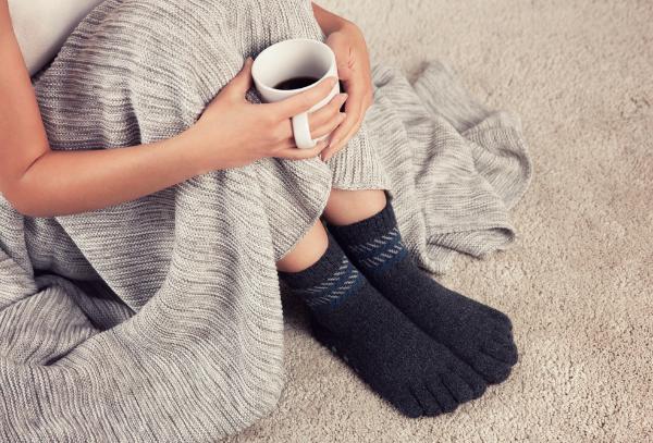 Knitido Home cashmere and merino house socks