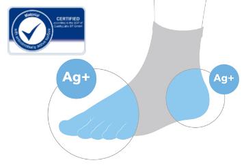antimicrobial Silver Socks
