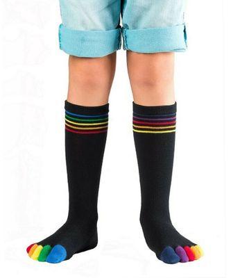 Knitido Rainbows Kids | Zehensocken aus Baumwolle
