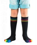 Knitido Rainbows Kids | Zehensocken aus Baumwolle