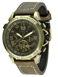 Calvaneo 1583 Astonia  Apocalypse Bronze  End of World 2012 Edition Automatikuhr