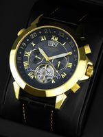 "Calvaneo 1583  Astonia ""Black Gold Edition"" Automatikuhr - Anthrazit-Effekt"