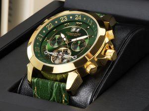 Calvaneo 1583 Astonia  Luxury Britannic GOLD  Automatikuhr Kalenderkomplikation