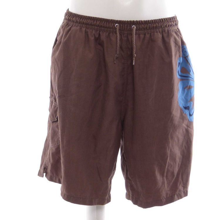 Signum Bermuda Shorts kurze Hose Gr. XL in Braun Blau (AHB)