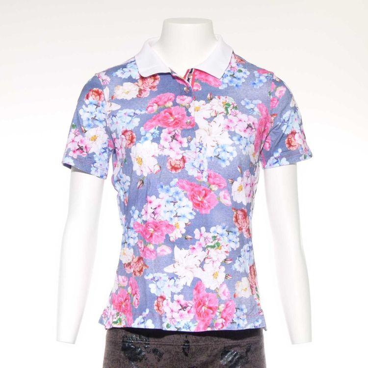 Basler Shirt Gr. 36 in Blau Mehrfarbig Floral (AHB)