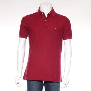 Tommy Hilfiger Shirt Gr. M in Rot (HH) 001