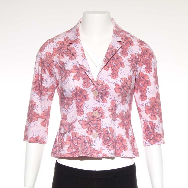 WET Bluse Gr. S in Rosa Floral (AHB)