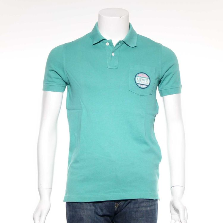 Levis Levi´s Polo Shirt Gr. S in Türkis Blau (AHB)