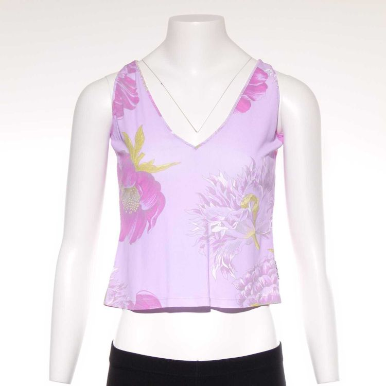 Gianfranco Ferre Top Gr. M in Lila Rosa Floral Muster (AHB)